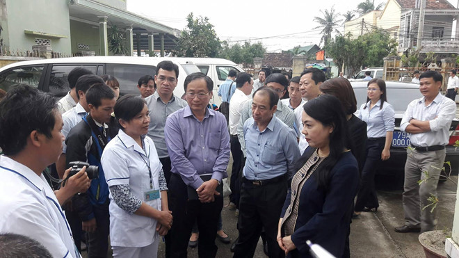 Minister of Health requests epidemic prevention after Typhoon Damrey