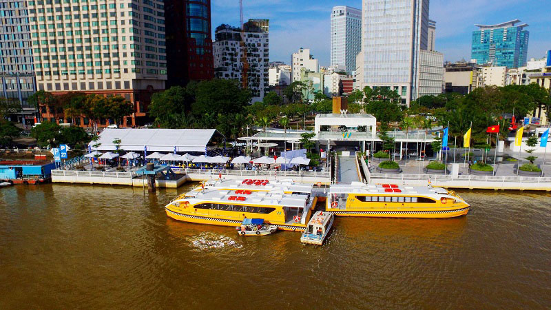 HCM city launches first river bus route