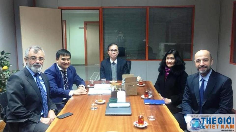Vietnamese Ambassador to Turkey pays working visit to Bursa province