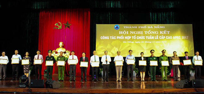 Da Nang city agencies work closely together for successful APEC Week