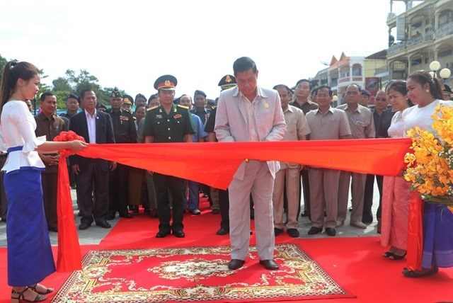 Vietnam-Cambodia Friendship Monument in Stung Treng province inaugurated