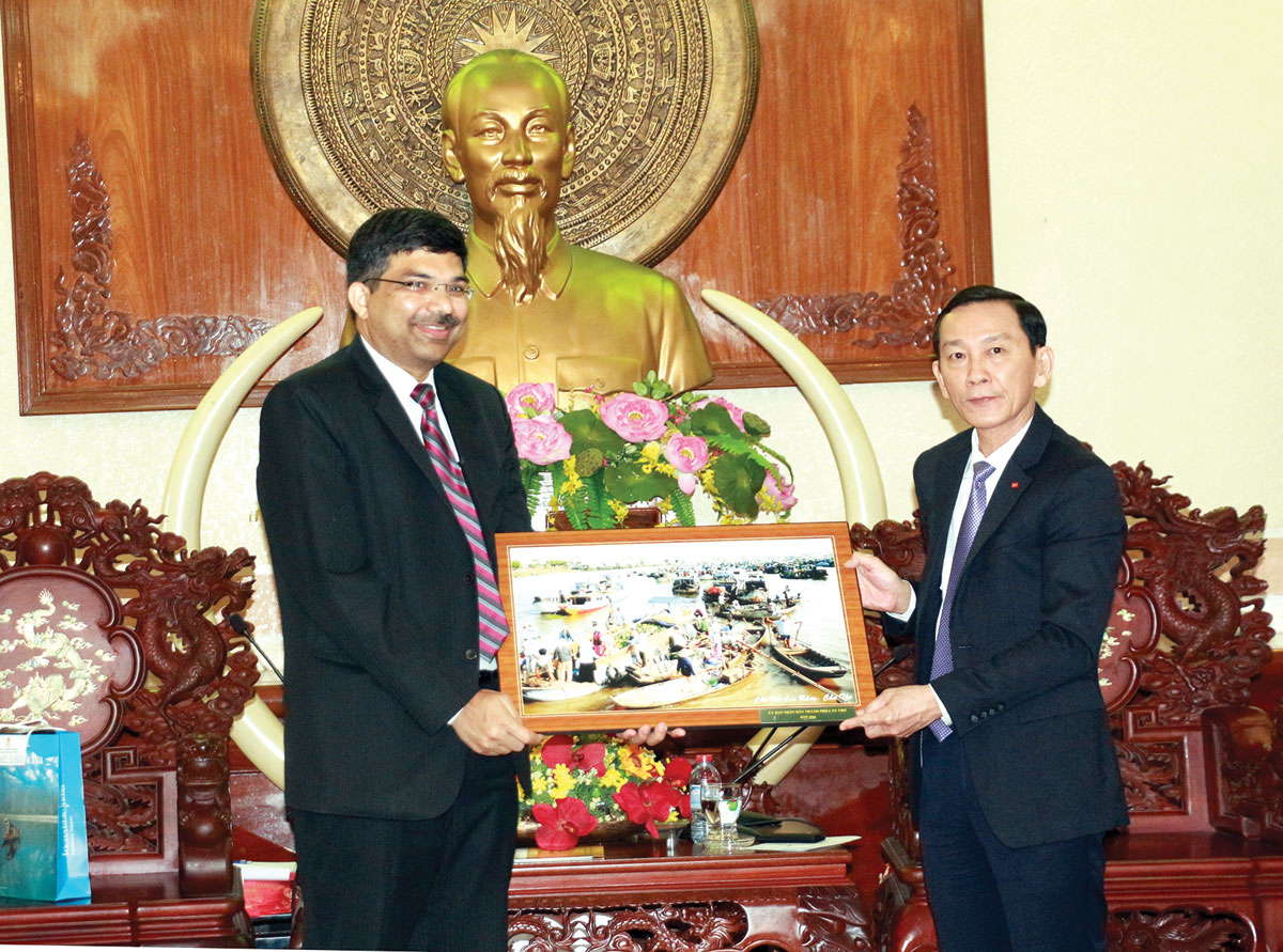 Can Tho city increases agricultural and training cooperation with India