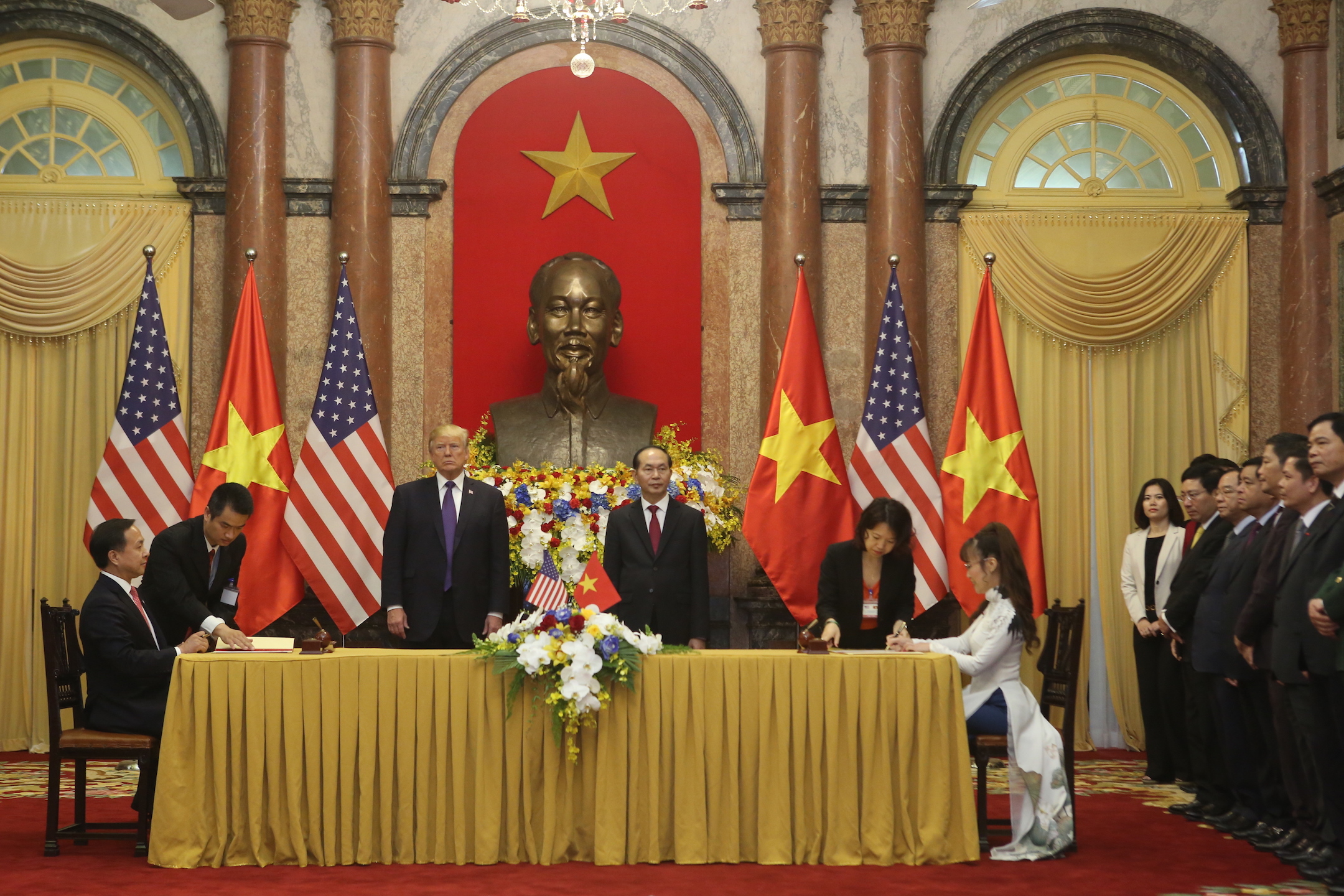 Vietjet, US sign engine selection contract