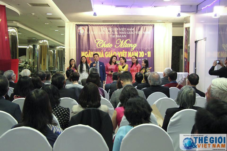 Vietnamese Teacher's Day marked in Poland