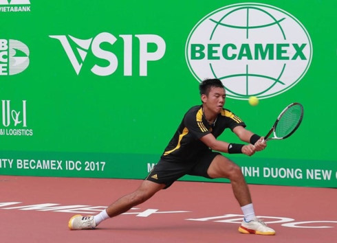 Nam finishes second at F2 tennis tourney