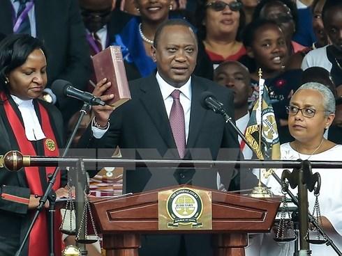 Uhuru Kenyatta sworn in as President of Kenya
