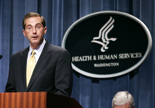 US President nominates Health and Human Services Secretary