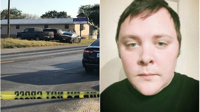 Gunman in Texas church identified