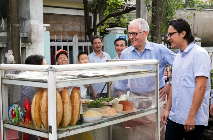 Prime Minister Turnbull: Vietnamese food is enjoyed every day by Australians