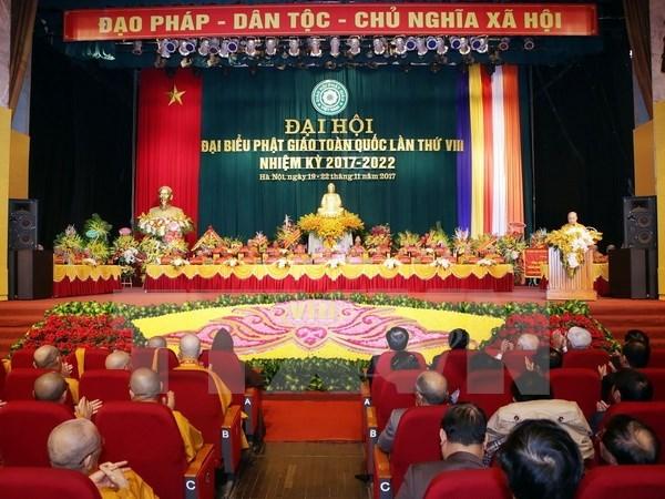 Vietnam Buddhist Sangha eighth congress opens in Hanoi