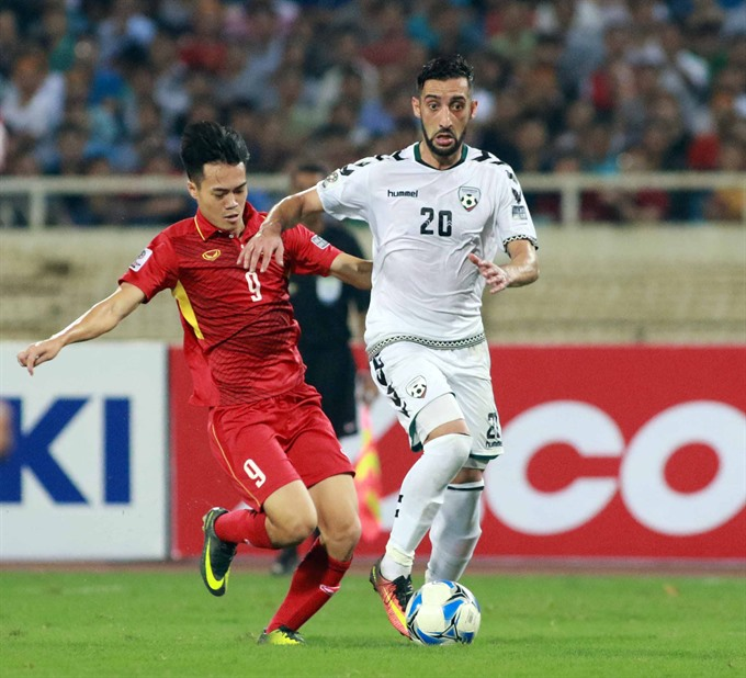 Vietnam draw with Afghanistan, qualify for 2019 Asian Cup
