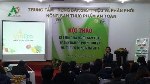 JICA helps Vietnam build supply chains of safe farm produce