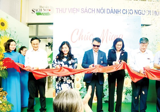 Ho Chi Minh city opens new headquarters of talking library for the blind