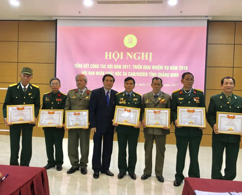 Quang Ninh province: Over VND6.8 billion to support AO victims