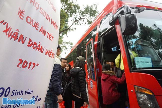 Hanoi gives disadvantaged workers transport assistance for Tet