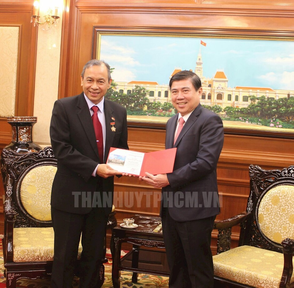Ho Chi Minh city's leader urges increased cooperation with Indonesia