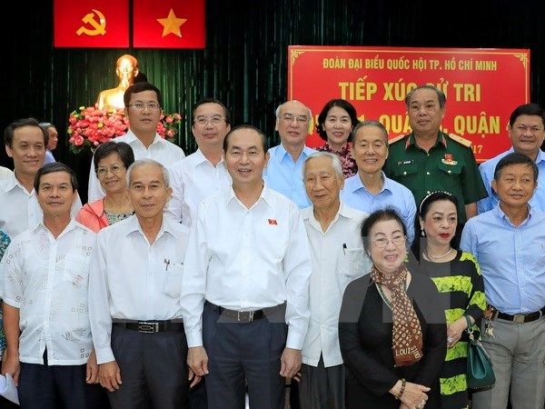 Ho Chi Minh City voters hail success of National Assembly's 4th session