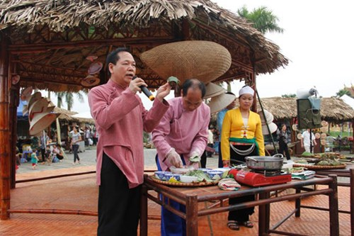 Traditional foods introduced at Vietnam National Village for Ethnic Culture and Tourism