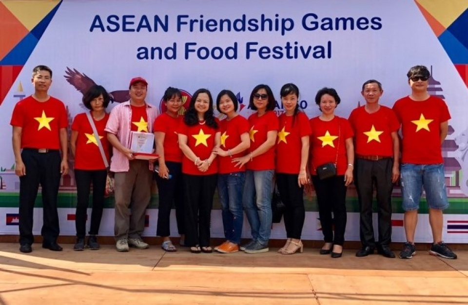 Vietnam joins ASEAN Friendship Games and Food Festival in Myanmar