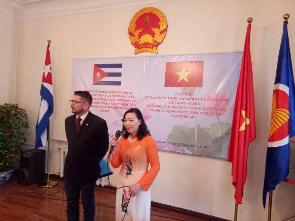 "Cuban Ambassador to Mongolia: ""Vietnam - Cuba are close siblings"""