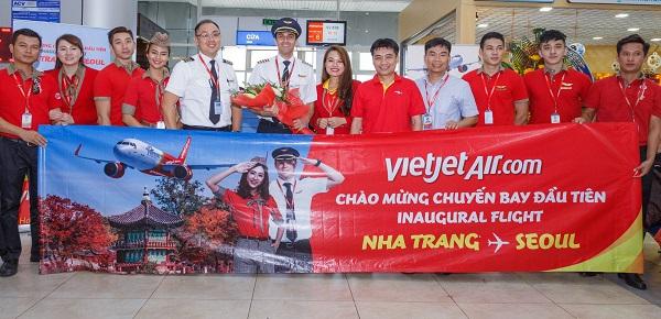 Vietjet Air launches Nha Trang - Seoul route