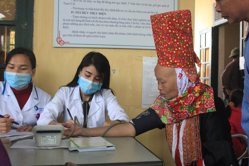 Free examinations and medicines for Tien Yen district people