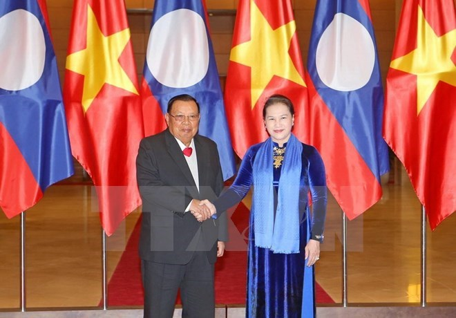 NA Chairwoman lauds visit of Lao Party and State leader