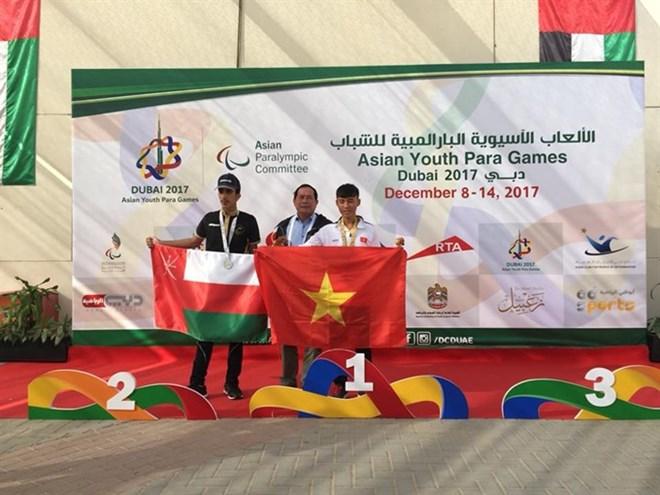 Vietnamese para athletes win golds at Asian Games