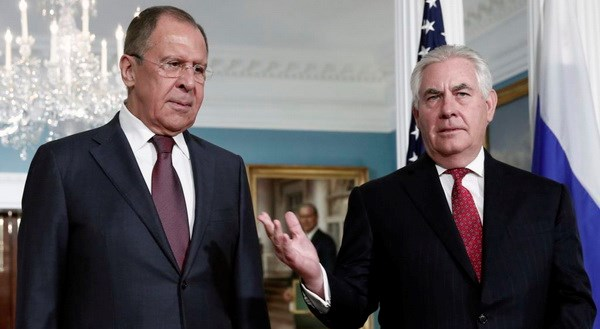 Russian Foreign Minister to meet US State Secretary Rex Tillerson in Vienna