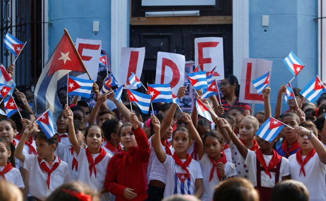 Cuban commemorates late leader Fidel Castro