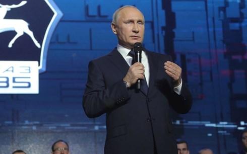 Vladimir Putin to run again for President