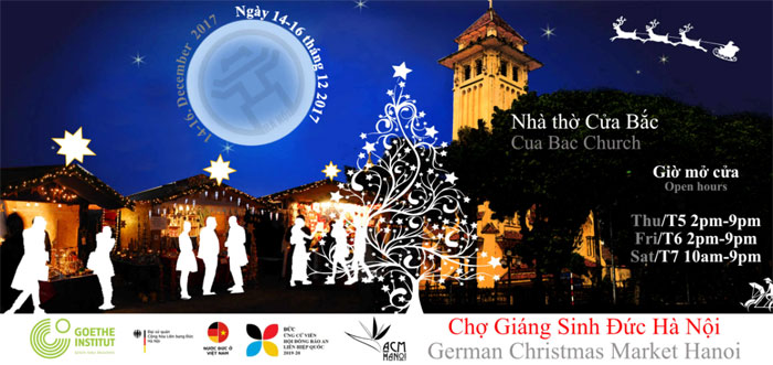 First German style Christmas market in Hanoi from December 14th-16th