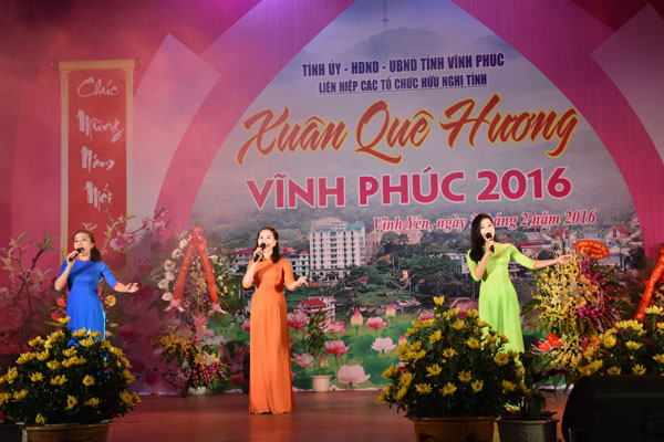 Vinh Phuc Homeland Spring 2018 to be organized for overseas Vietnamese