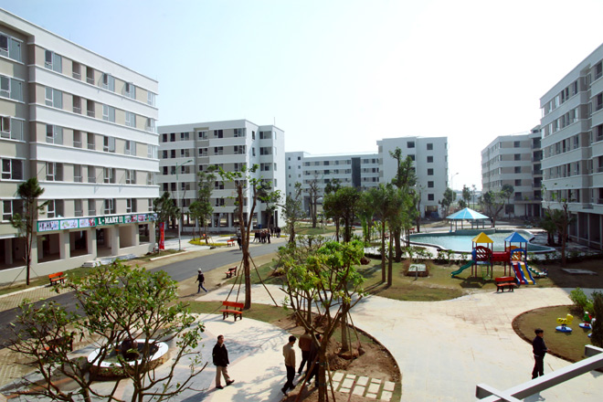 Hanoi builds additional 430,000 square metres of social housing