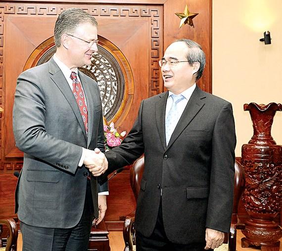 HCMC appreciates Vietnam - US comprehensive partnership