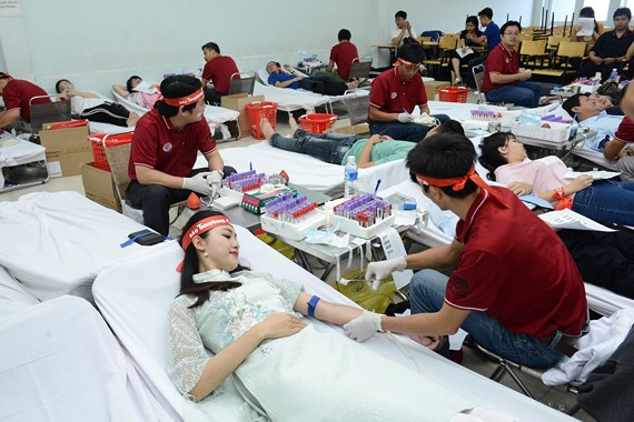 HCMC collects 1,600 units of blood in donation drive