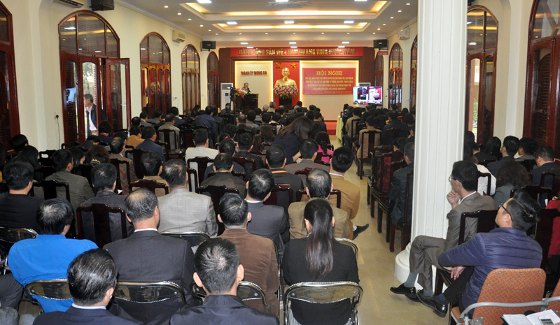 Northern city organizes online meeting on following Uncle Ho's example