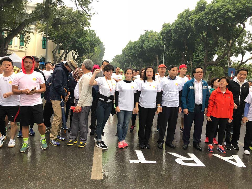 Singapore - Vietnam friendship charity run 2018
