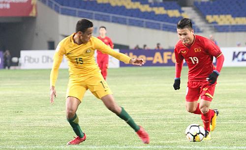 AFC U23 tour: Vietnam beat Australia 1-0