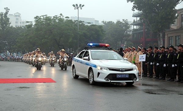 Traffic safety year launched