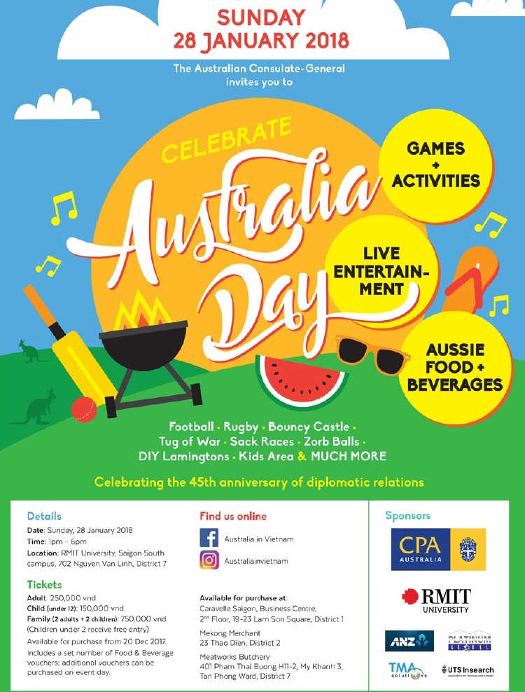 Second annual Australia Day Family event in Southern hub