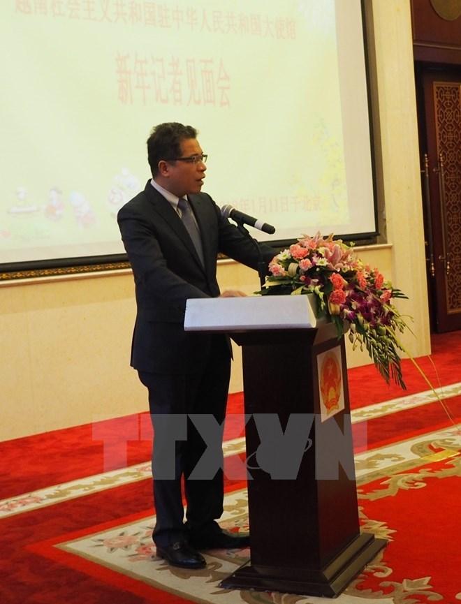 Vietnamese Ambassador meets Chinese press