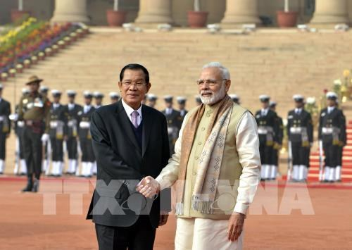 India, Cambodia ink four cooperative pacts