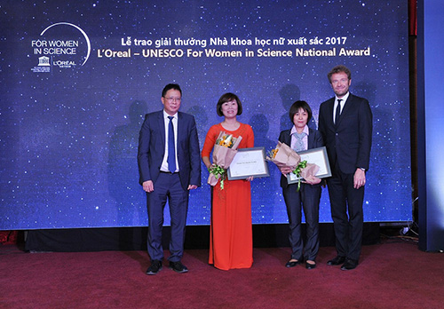 Five female Vietnamese scientists honoured