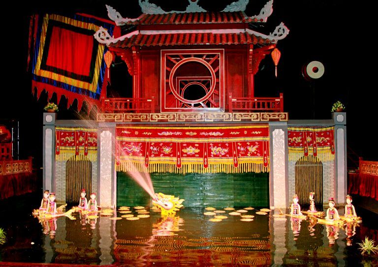 Vietnam water puppetry broadcast on US National Geographic Channel