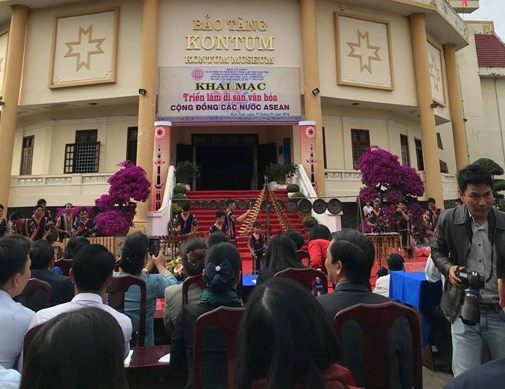Cultural heritage of ASEAN Community introduced in Kon Tum