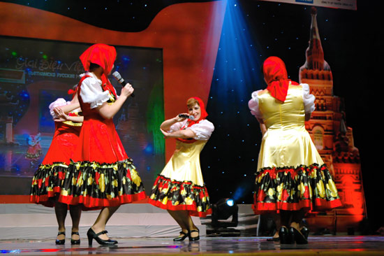 Russian folk dance ensemble to be performed at Hue Festival 2018