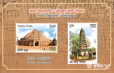 Vietnam-India joint stamp issued
