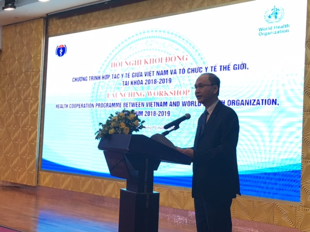 Health cooperation program between Vietnam and WHO launched