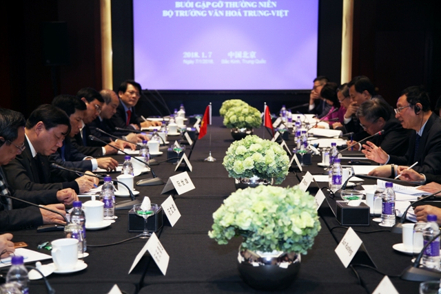 Vietnam and China promote cultural cooperation